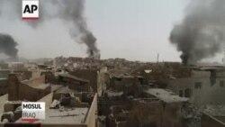 Fuerzas iraquíes combaten contra ISIS por Mosul