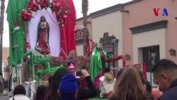 Los Angeles rinde culto a la Virgen de Guadalupe