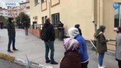 İstanbul'da Corona Olduğunu Düşünenler Test Kuyruğuna Girdi
