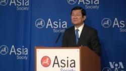 越南领导人指中国南海造岛违反国际法