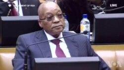 Bagarre au Parlement sud-africain (vidéo)