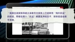 媒体观察:环时称海外民运 遭人唾弃