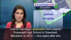 Anh ngữ đặc biệt: College Women Guide High School Students (VOA)