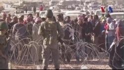 Người Kurd ở Syria trốn chạy sang Thổ Nhĩ Kỳ