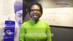 uncomfortable (adjective)