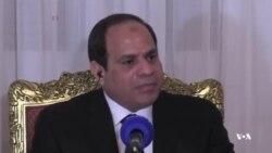 السیسی: پاکسازی لیبی از پیکارجویان افراطی نیازمند یک ائتلاف بین المللی است