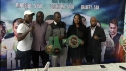 Zimbabwe Boxer Prepares to Defend WBC Title in Singapore