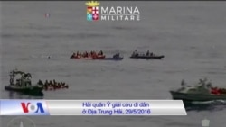 Thuyền chở mấy trăm di dân bị đắm ở Ðịa Trung Hải