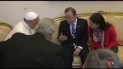 O Papa e a UNGA