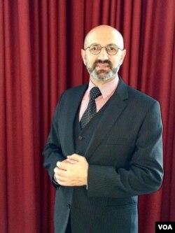 Journalist and lawyer Hossein Ahmadiniaz. (Photo courtesy of Hossein Ahmadiniaz)