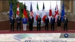 """Президент Трамп перебуває на Сицилії, де проходить саміт країн """"Великої сімки"""". Відео"""