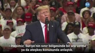 Trump Türkiye ve YPG'yi 'Bahçede Kavga Eden Çocuklara' Benzetti