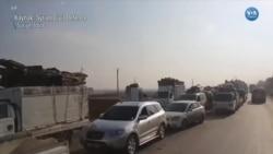 '200 Bini Aşkın Suriyeli Türkiye Sınırına Gidiyor'