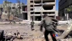 美國猛烈空炸敘利亞阿勒頗外的伊斯蘭國組織據點