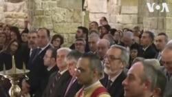 ԱՌԱՆՑ ՄԵԿՆԱԲԱՆՈՒԹՅԱՆ. Հալեպում վերականգնված Հայկական եկեղեցին անցկացրել է առաջին պատարագը