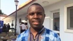 YALI 2016: Airton Kenha jornalista no Lubango