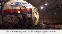 Phi đạn do Nga chế tạo bắn rơi máy bay MH17 (VOA60)