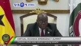 VOA60 AFIRKA: A Ghana, Kungiyar ECOWAS Ta Dakatar Da Kasar Guinea Daga Cikin kungiyar, Bayan Juyin Mulkin Da aka Yiwa Shugaba Alpha Conde