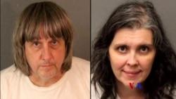 2018-1-16 美國之音視頻新聞: 洛杉磯夫婦涉嫌虐待親生子女被捕