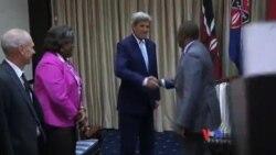 克里在肯尼亞就維護南蘇丹和平舉行會談