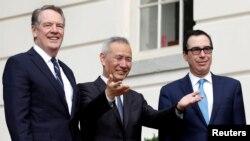 Các nhà đàm phán thương mại hàng đầu của Mỹ và Trung Quốc