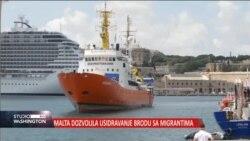 Malta dozvolila usidravanje broda sa migrantima