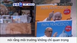 Đức Giáo hoàng ra thông dụ về biến đổi khí hậu (VOA60)