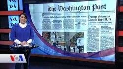 6 Aralık Amerikan Basınından Özetler
