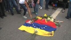 "Opositores venezolanos marchan por ""canal humanitario"""