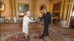 Էրդողանի հանդիպումը Անգլիայի թագուհու և վարչապետի հետ