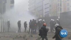 Anti-Migrant Protest in Belgium Turns Violent