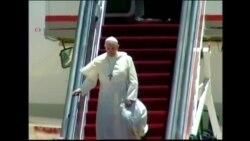 MIDEAST POPE VO