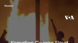 Kematian George Floyd Picu Protes Besar, Trump Ancam Tembak Demonstran