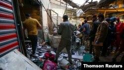 انفجار روز دوشنبه در شهرک صدر