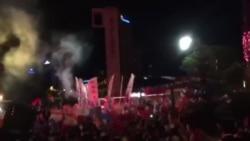Ankara'da AK Parti Genel Merkezi Önü