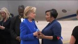 希拉里克林頓稱自己正從肺炎中康復