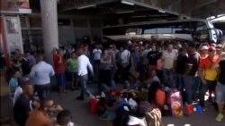 2015-12-29 美國之音視頻新聞: 數千名滯留古巴移民獲准前往美國