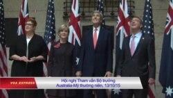 Mỹ kêu gọi Australia có lập trường mạnh hơn về Biển Đông