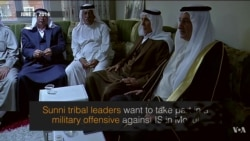 On the Scene: Iraqi Sunni Tribal Leaders Seek to Gain Influence in War Against IS