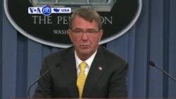 VOA60 America - Defense Secretary Ashton Carter urged Turkey to do more in fighting Islamic State - August 21, 2015