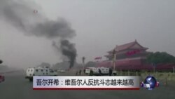 吾尔开希:维吾尔人反抗斗志越来越高