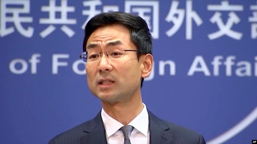 Phát ngôn nhân Bộ Ngoại giao Trung Quốc Cảnh Sảng