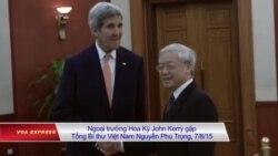Ông Kerry gợi ý cho Hà Nội về quan hệ với tân chính phủ Mỹ?