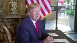 """特朗普稱美國準備好應對北韓的""""聖誕禮物"""""""