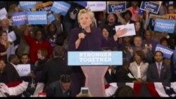 Contundente ventaja de Hillary Clinton en encuestas nacionales