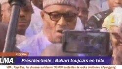 Buhari toujours en tête de la présidentielle au Nigeria
