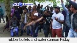 VOA60 Africa - South Africa: New anti-immigrant protests erupt in Pretoria