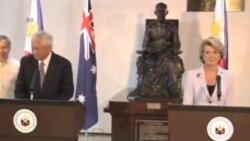 澳大利亚敦促南中国海声索国对话解决争议