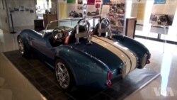 3D打印制作标志性跑车的复制品