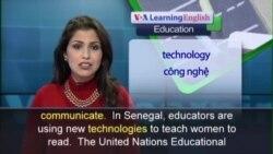 Anh ngữ đặc biệt: Senegal Women Literacy (VOA)
